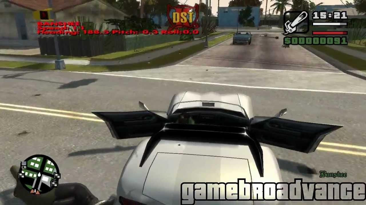 GTA IV: San andreas Beta 3 Gameplay 1 - Los santos