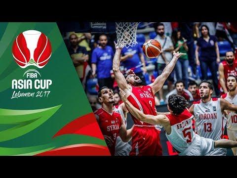 Jordan v Syria - Full Game - FIBA Asia Cup 2017