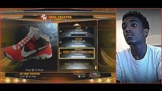Nba 2k14 Shoe Creator - How To Create Your Own Versace Nike Shoe + Facecam