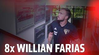 WILLIAN FARIAS: OITO ESTADUAIS NA CONTA   SPFCTV