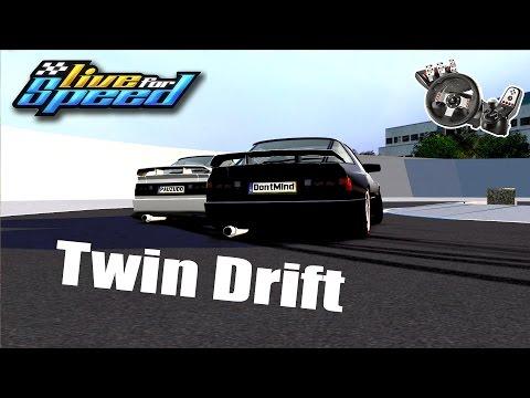 Live For Speed -💥Drift Twin lado a lado ft. Dooug (G27 mod)