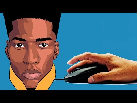 How To Shade And Draw With Mouse 2019 TUTORIAL ( ADOBE ILLUSTRATOR )