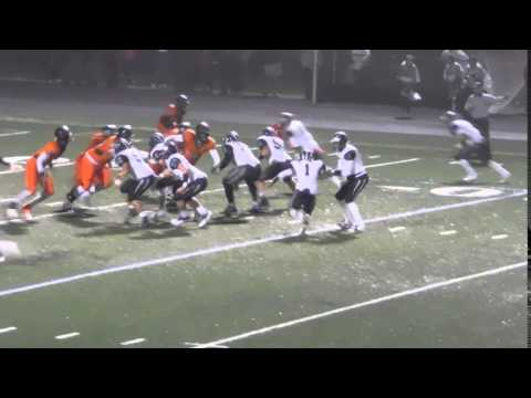 Crawford incomplete pass Howard/Oakland Mills football 10/02/15