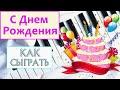 с днем рождения пианисту