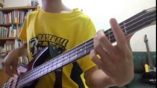 張震嶽-自由 Bass Cover