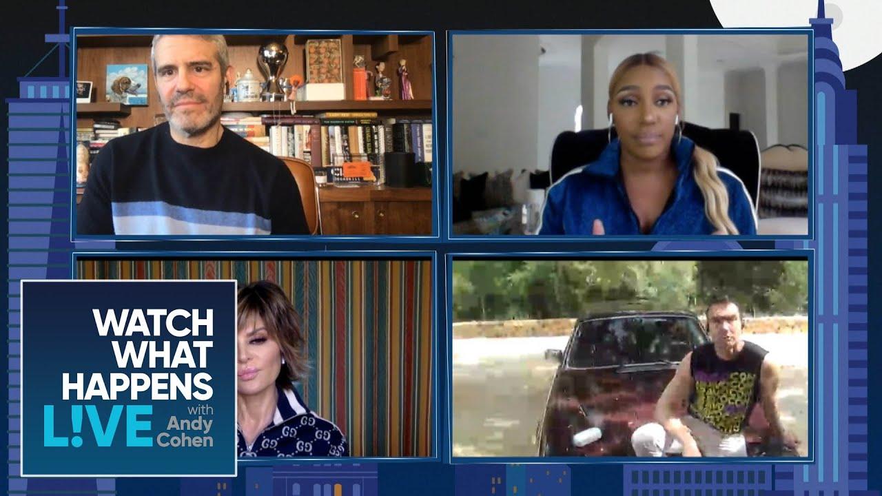 How Nene Leakes & Lisa Rinna Are Staying Sane | WWHL