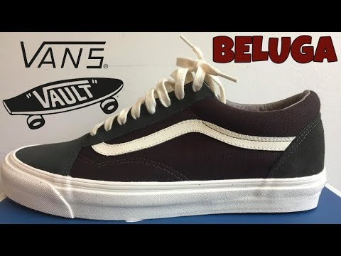 vans vault og old skool lx black marshmallow