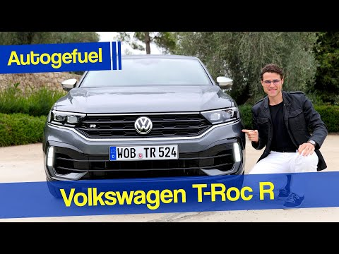 Volkswagen T-Roc R driving REVIEW Performance SUV - Autogefuel