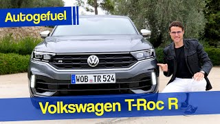 Volkswagen T-Roc R driving REVIEW Performance SUV - Autogefuel