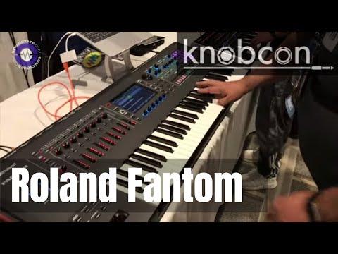 Knobcon 2019: Roland Fantom Demo