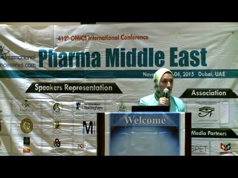Amira Sayed Mohmoud Hanafy | Egypt | Pharma Middle East 2015| Conference Series LLC