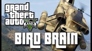 BIRD BRAIN IN GTA 5 -  TROLLING/RAGING/FREAKOUT - GOONONFIRE