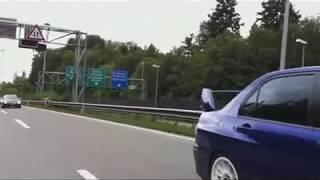 Mitsubishi Evo Konvoi (evo-forum.ch) St.Gallen