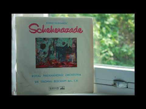 Rimsky-Korsakov Scheherazade / Royal Philharmonic Orchestra, Sir Thomas Beecham (1958)