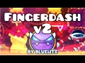 """Fingerdash v2"" [DEMON] by Bluelite | Geometry Dash 2.1 | GuitarHeroStyles"