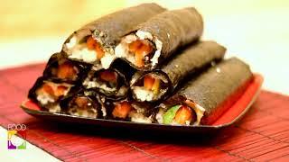 Рецепт суши роллов с семгой и авокадо - быстрый рецепт суши с советами