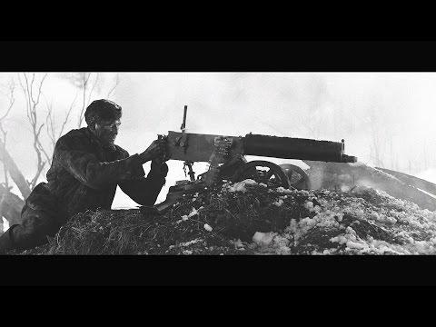 The 28 Panfilov Heroes Machine Gun Scene (Get Stronger B&W Edit)