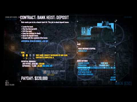 Payday 2   Lobby Creation (tips and tricks)