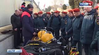 В Севастополе прошли соревнования военных водолазов