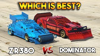 GTA 5 ONLINE : ZR 380 VS DOMINATOR (WHICH IS BEST?)