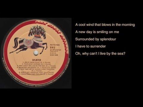 Splinter - Why Can