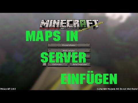 Minecraft Maps In Server Einfügen - Minecraft server erstellen kostenlos aternos