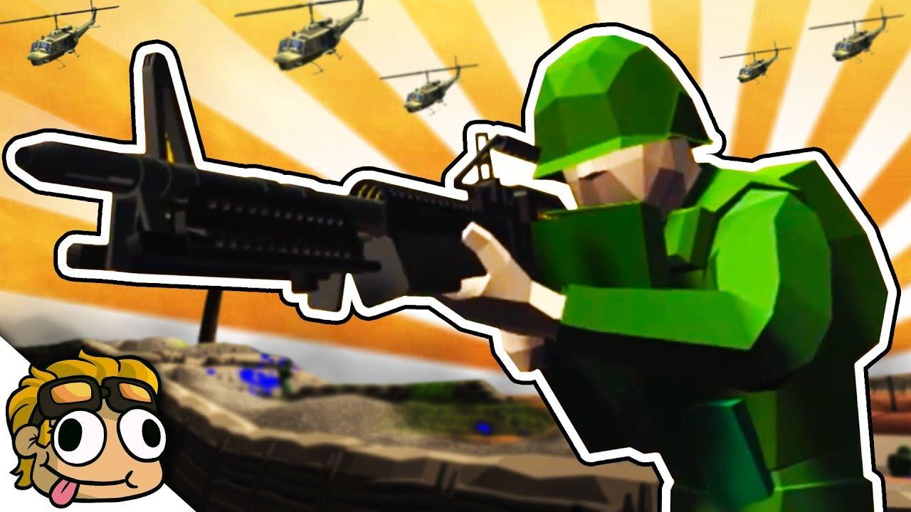 AMAZING VIETNAM WAR MOD PACK!   Ravenfield Weapon and Vehicle Mod Beta  Gameplay