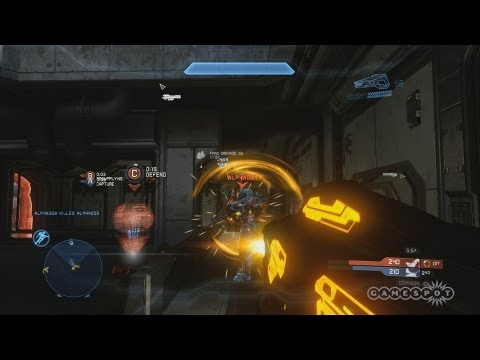 Halo 4 - New Dominion MP Mode Gameplay Video