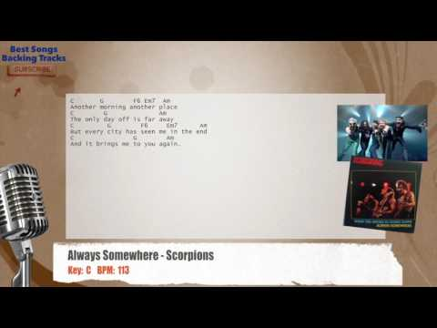 Always Somewhere - Scorpions Vocal Backing Track with chords and lyrics
