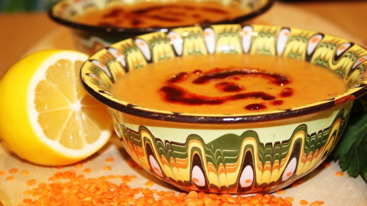 Мерджимек чорбасы. Mercimek çorbası. Турецкая кухня. Готовит Никита Сергеевич