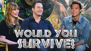 Would Chris Pratt and Bryce Dallas Survive in Jurassic World?