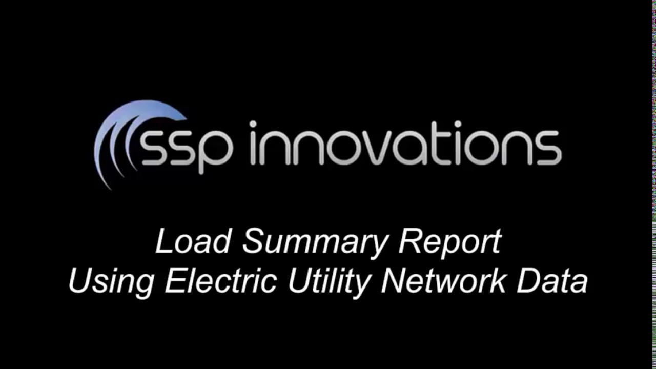 Data Ytics Resume | Esri Utility Network Load Summary Report Using Electric Network