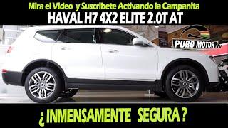 HAVAL H7 INMENSAMENTE SEGURA EN TRUJILLO PURO MOTOR SUSCRIBETE  WHATSAPP 921 705 347