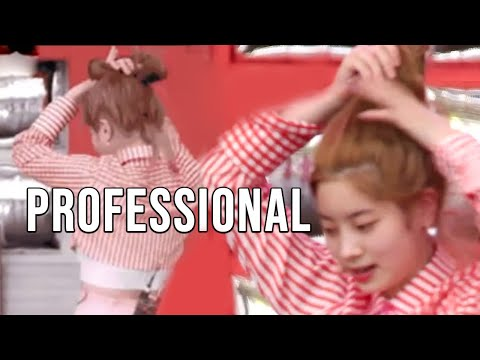TWICE being professional artists
