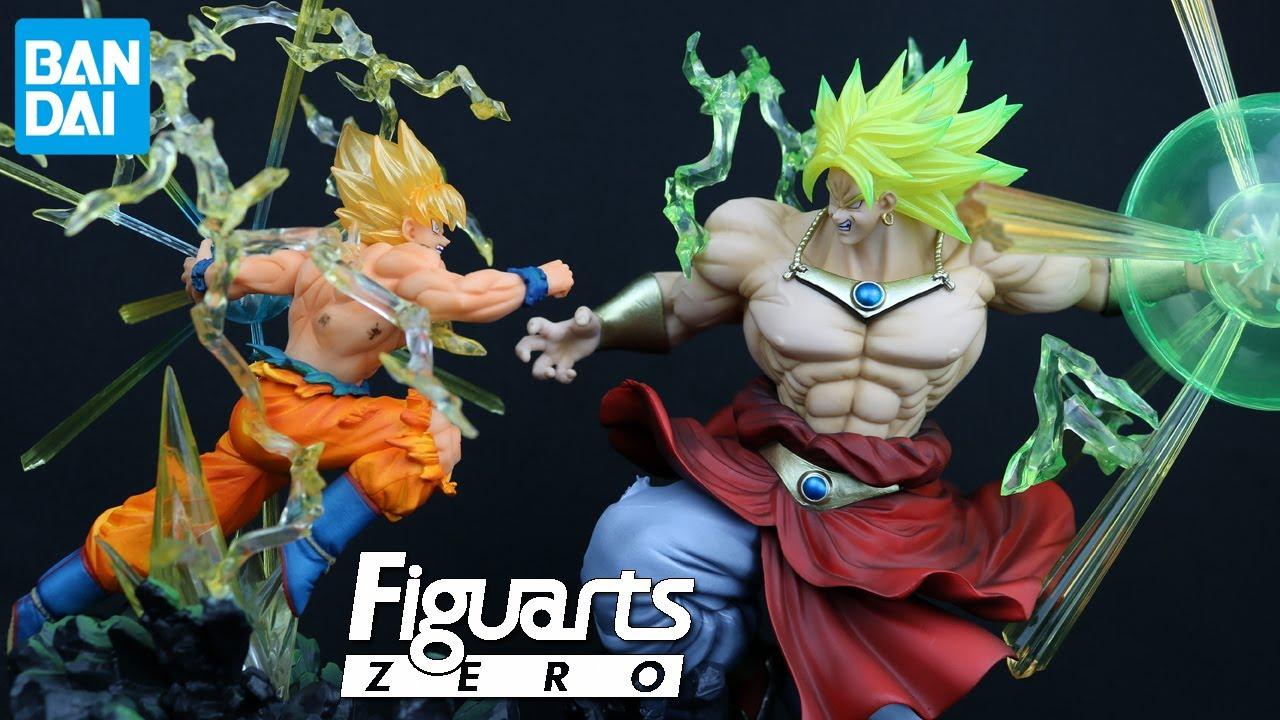 Dragonball Z Blue Super Saiyan Broly Broli Action Figure DBZ Toy Goku Fighting