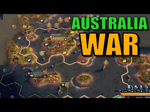 Civ 6: Australia Gameplay [True Start Earth Map] Let's Play Civilization 6 Australia | Part 10
