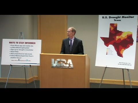 LCRA Drought Press Conference