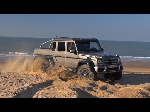 Mercedes-Benz G63 AMG 6x6 - Off Road Beach Driving!!