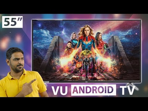 Vu Premium Android 4K 55 Inch TV Review | Better Than MiTV 4X 55 Inch?🤔