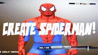 WWE'12: How to make Spiderman Formula