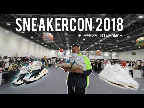 COPPING HEAT AT SNEAKERCON LONDON!!! (RINGSIDE AT ANTHONY JOSHUA FIGHT!)