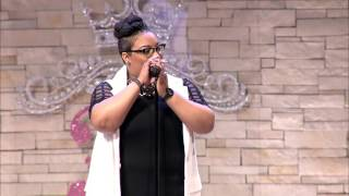 tasha page lockhart performs faith come alive and different