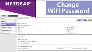 how to change wifi Password - NETGEAR N600 Dual Band Wi-Fi Router - Netgear Login