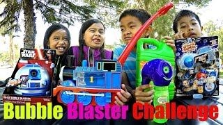 Bubble Blaster Challenge: R2-D2 Bubble Blaster, Glow Bubble Blaster, Gazillion Streamin Bubbles +