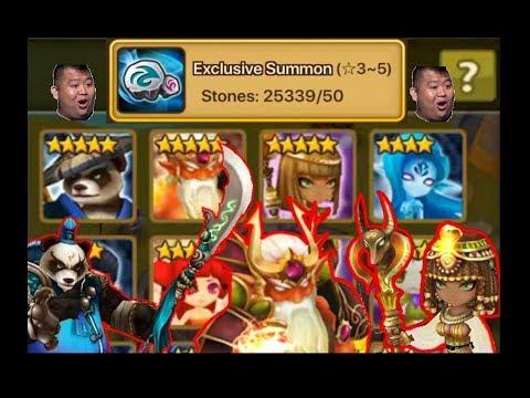 [Summoners War] 25,000 Summoning Stones for Mo Long and Hathor!!!!! RTA STARTER PACK!