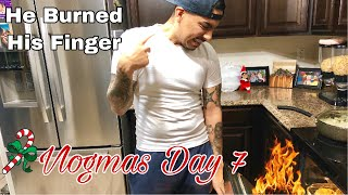 Cooking With Nestor! Vlogmas Day 7 + Giveaway