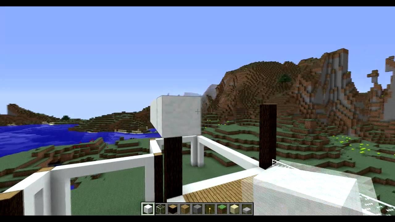 construcciones a pedido 2 casa moderna de nieve y madera