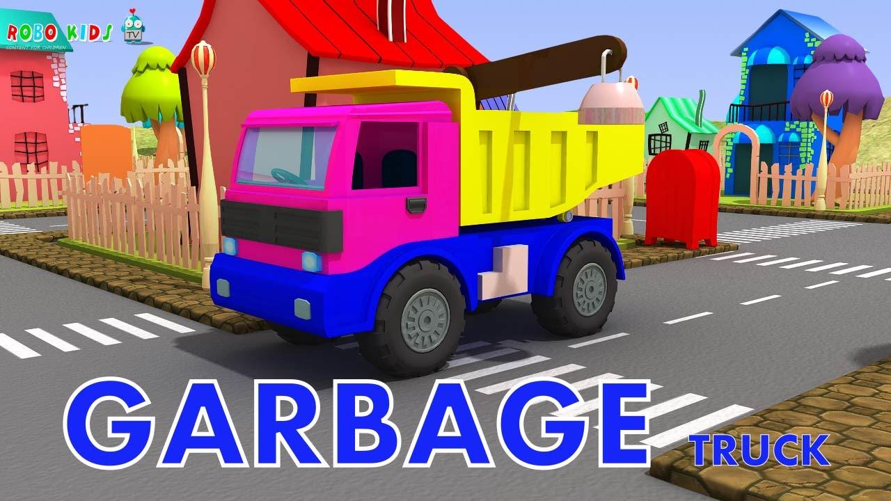 garbage truck videos for children lorry videos for children