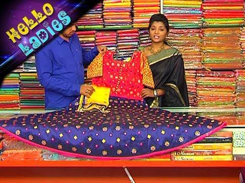 Party Wear Full Length Dresses || Kora & Banarasi Fabrics || Vanitha TV