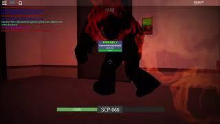 SCP-066 & SCP-457 Teamwork!: Roblox SCP rBreach